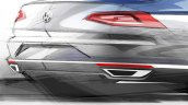 2015 VW Passat tech presentation taillights