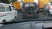 2016 Mahindra Bolero IAB spied rear