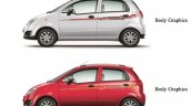 Chevrolet Spark special edition body graphics