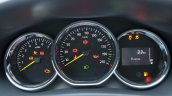 Dacia Logan 10th anniversary edtion instrument cluster