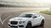 Front left three quarters of the Bentley Continental GT3-R