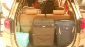 Honda Mobilio luggage space mall display