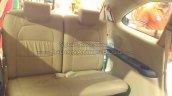 Honda Mobilio third row seat mall display