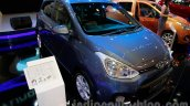 Hyundai Grand i10 front three quarters left at the 2014 Indonesia International Motor Show