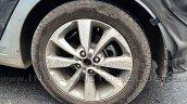 IAB spied 2015 Hyundai i20 alloy wheel