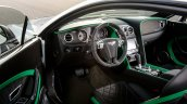 Interior of the Bentley Continental GT3-R