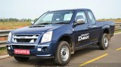 Isuzu D-Max Spacecab Arched Deck Review front quarter