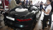 Jaguar Project 7 rear three quarters at 2014 Goodwood Festival of Speed