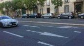 Jaguar XE sedan spied front