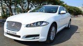 Jaguar XF 2.0L Petrol Review front quarters