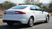 Jaguar XF 2.0L Petrol Review rear angle