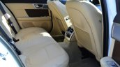 Jaguar XF 2.0L Petrol Review rear legroom