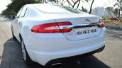 Jaguar XF 2.0L Petrol Review rear quarter shot