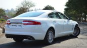 Jaguar XF 2.0L Petrol Review rear three quarter