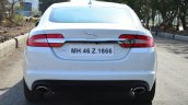 Jaguar XF 2.0L Petrol Review rear view