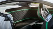 Luggage bay of the Bentley Continental GT3-R