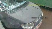 Mahindra S101 bonnet and windshield spyshot from Chennai
