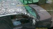 Mahindra S101 driver side window spyshot from Chennai