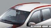 Mahindra XUV500 Sportz red roof rails