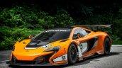 McLaren 650S GT3 2014 Goodwood front three quarters
