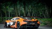 McLaren 650S GT3 2014 Goodwood rear three quarters