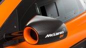 McLaren 650S GT3 studio shot rear view camera