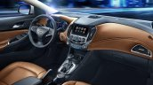 Next generation Chevrolet Cruze interior press shot