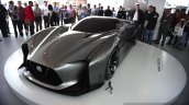 Nissan Concept 2020 Gran Turismo front three quarters at the 2014 Goodwood Festival of Speed