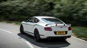 Rear spoiler of the Bentley Continental GT3-R