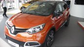 Renault Captur front three quarters left at the 2014 Goodwood Festival of Speed