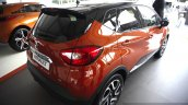 Renault Captur rear three quarters at the 2014 Goodwood Festival of Speed
