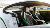 Seats of the Bentley Continental GT3-R