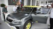 Skoda Yeti Xtreme front three quarters left at Goodwood Festival of Speed 2014