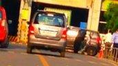 Spied New Maruti Alto K10 rear door