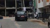 Spied in Chennai Mahindra S101 front fascia