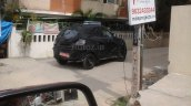 Spied in Chennai Mahindra S101 side