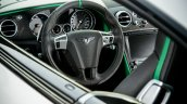 Steering wheel of the Bentley Continental GT3-R