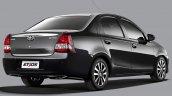 Toyota Etios Platinum press shot sedan