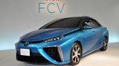 Toyota FCV sedan official image front three quarter
