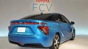 Toyota FCV sedan official image rear three quarters