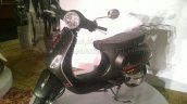 Vespa Esclusivo preview Black front quarter