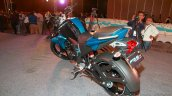 Yamaha FZ-S FI V2.0 blue rear three quarters