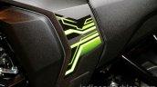 Yamaha FZ-S FI V2.0 green middle panel