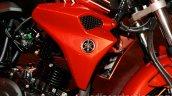 Yamaha FZ-S FI V2.0 red tank extensions