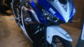 front three quarter of Yamaha R25 special edition
