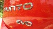 2014 Fiat Punto Evo Sport live badge