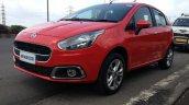 2014 Fiat Punto Evo Sport live front quarter