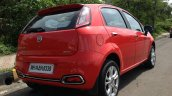 2014 Fiat Punto Evo Sport live rear quarter