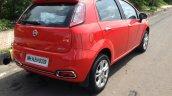 2014 Fiat Punto Evo Sport live rear quarters
