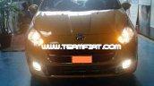 2014 Fiat Punto Evo spied front fascia